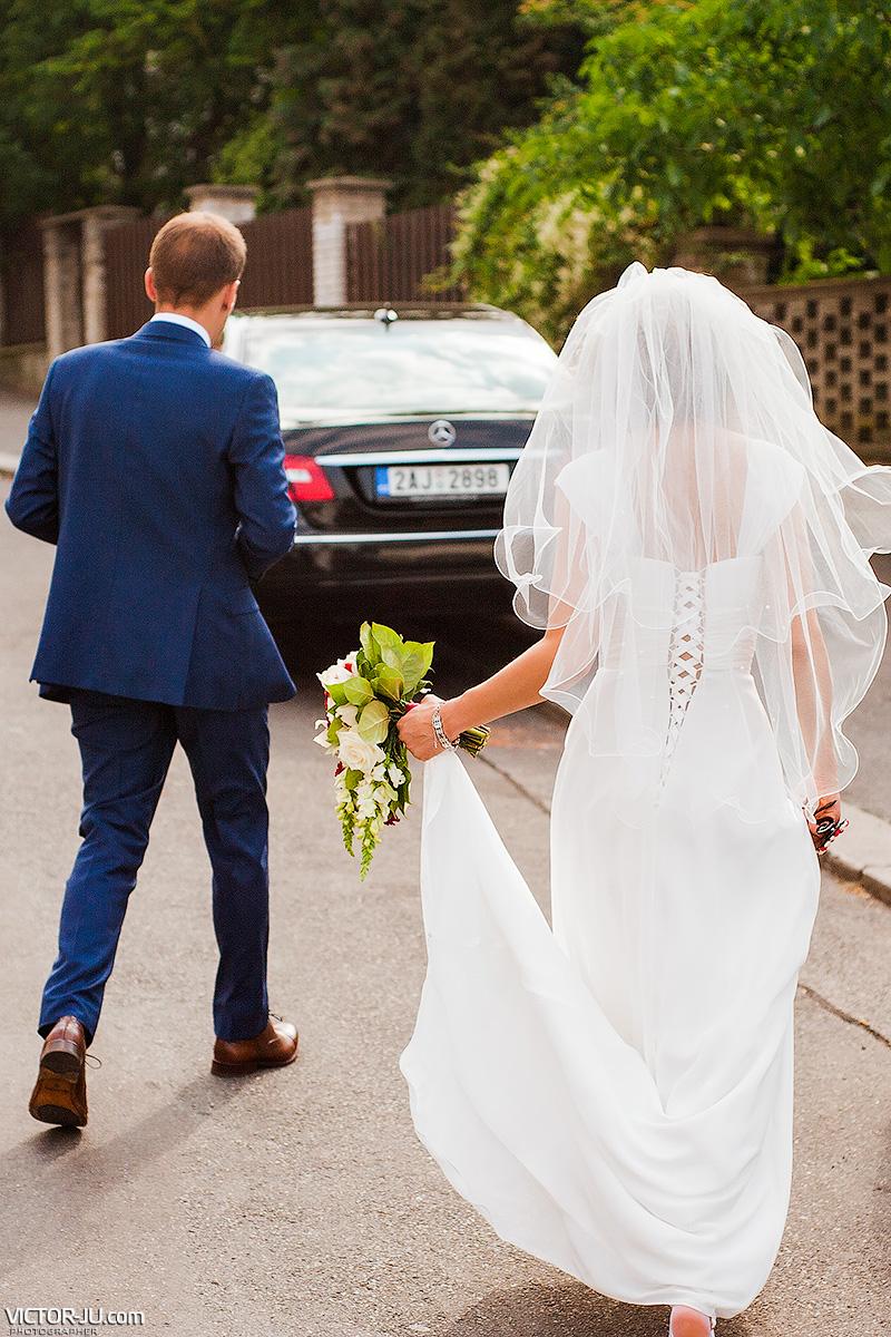 Свадьба в Либенском банке