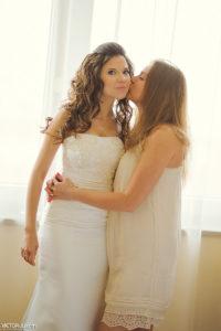 Свадьба в Праге, сборы невесты