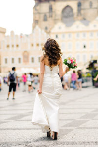 Невеста на Староместской площади