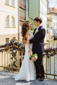 Свадьба в Праге Кампа