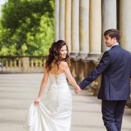 Красивая свадьба Ивана и Раисы в Замке Карлштейн