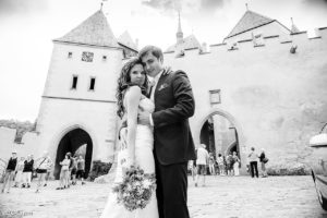 Свадьба в Чехии, Замок Карлштейн