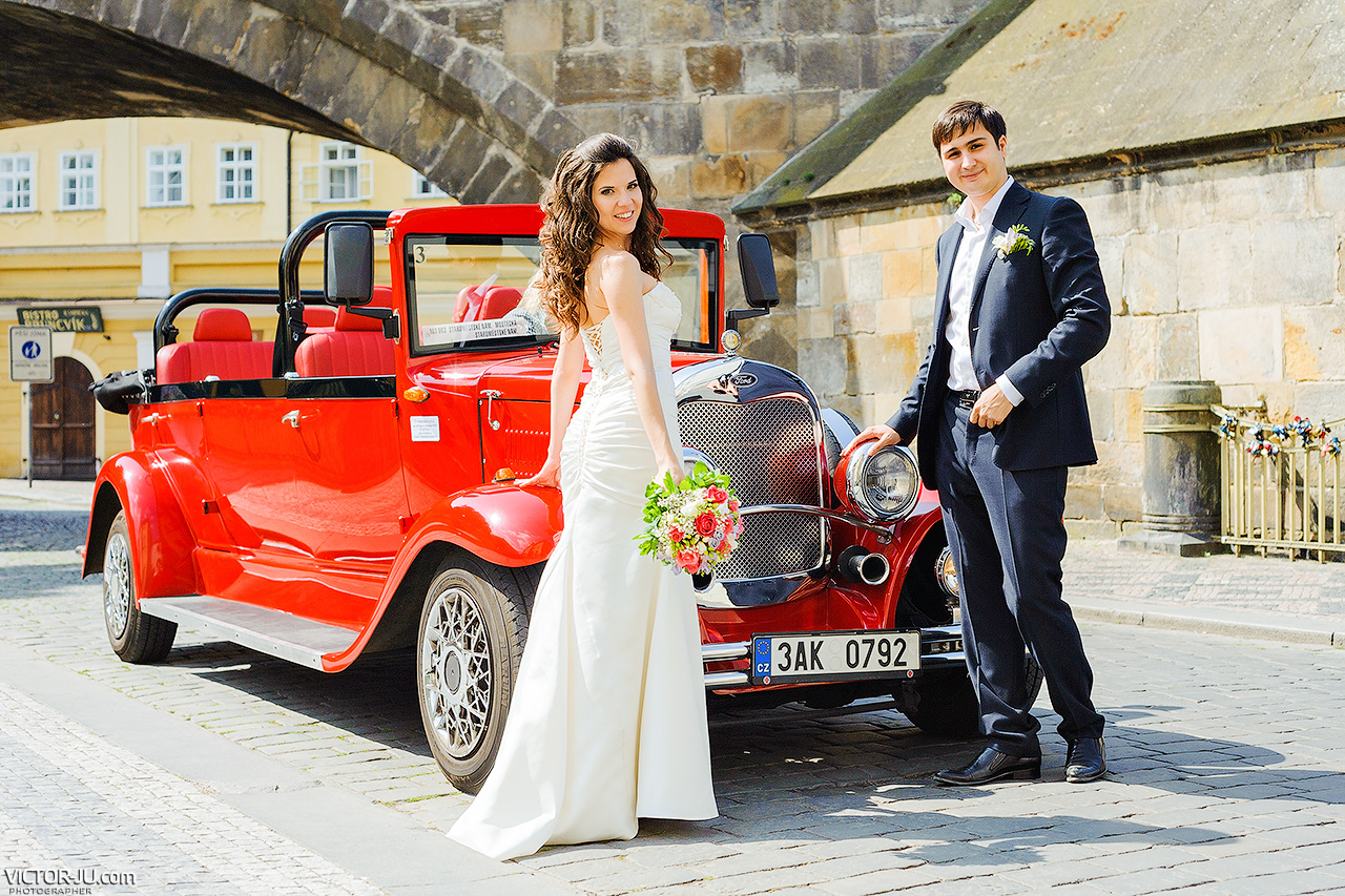 Wedding in Prague