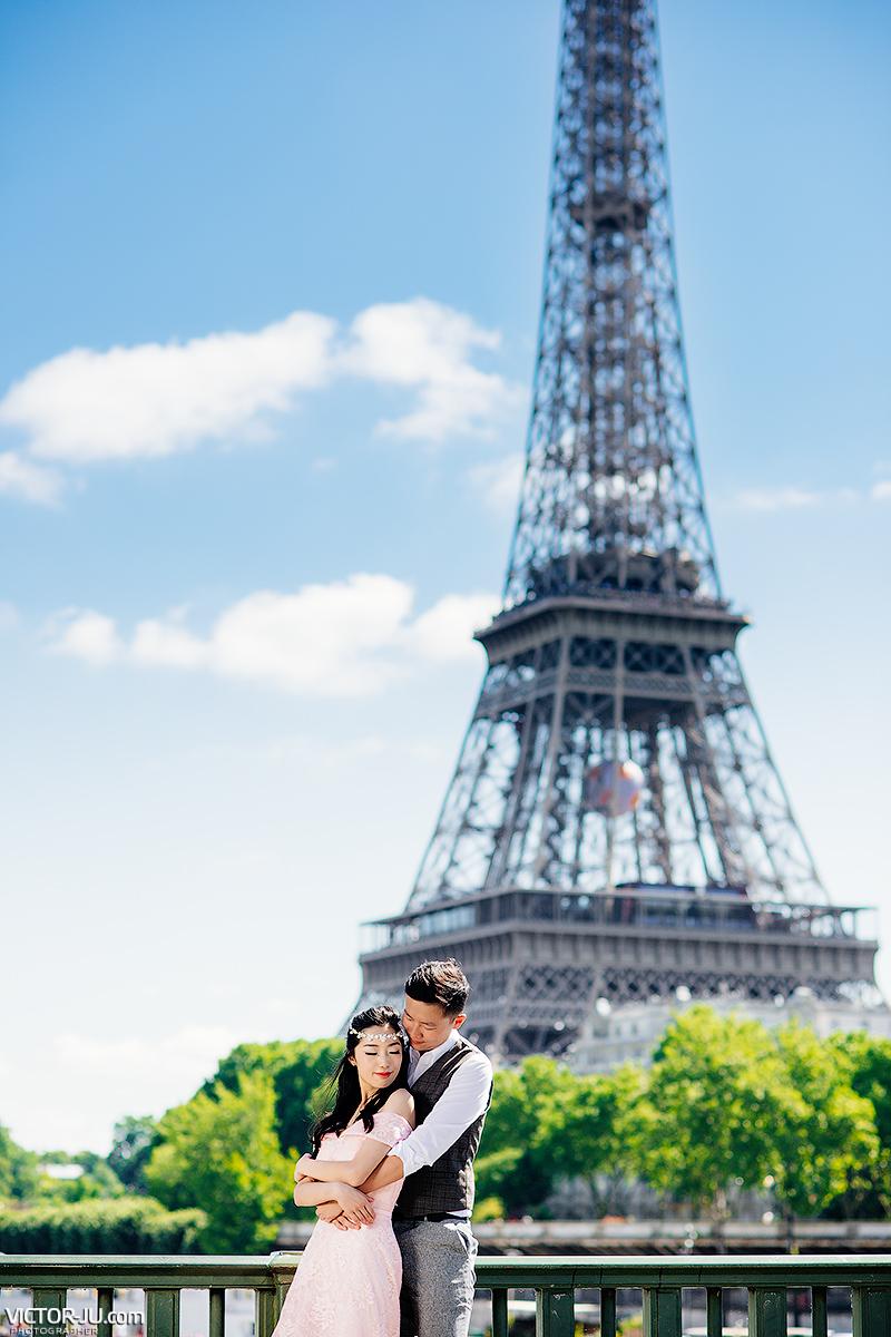 Paris pre wedding photo