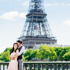 Paris pre wedding photo for a loving couple from Hong Kong – Nicole & Roger