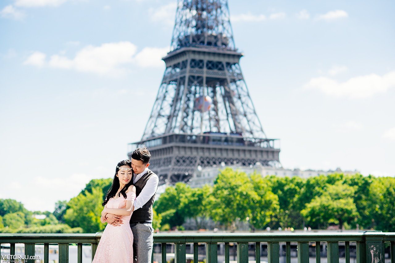 Paris pre wedding photo