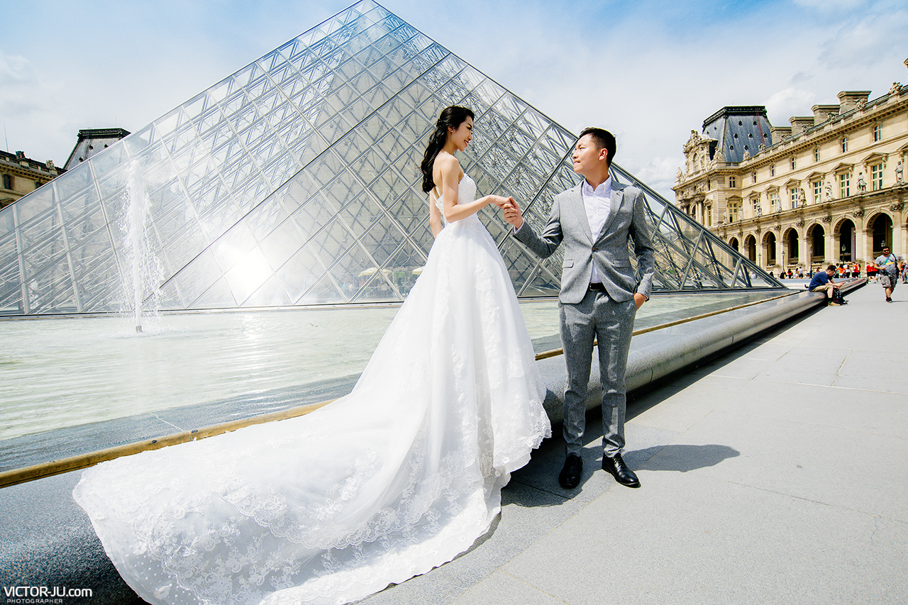 Pre-wedding photography in Paris