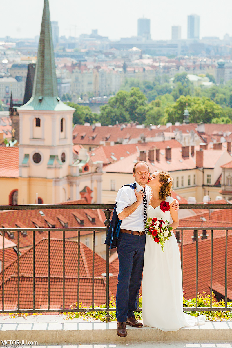 Prewedding photoshoot in Prague, Europe