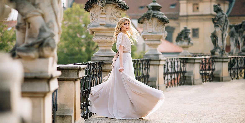 Фотосессия в свадебных нарядах