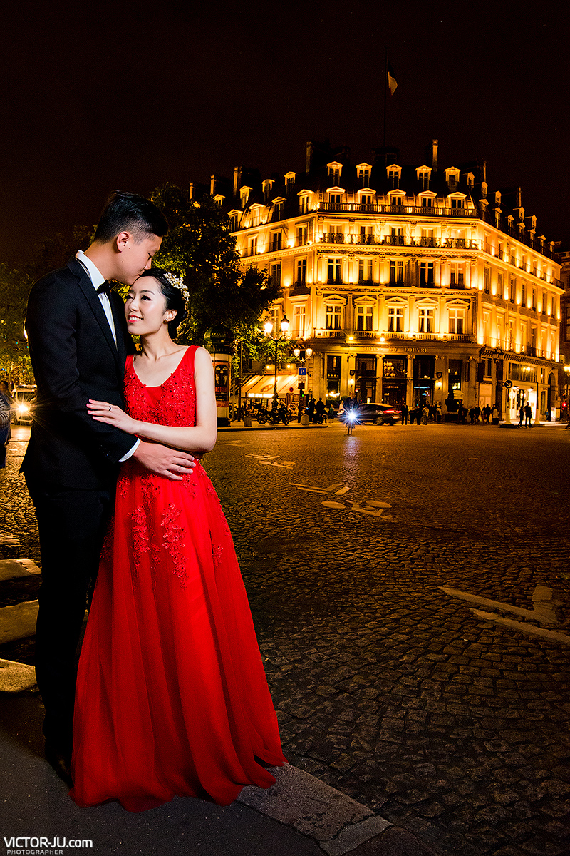 Evening Photo shoot in Paris