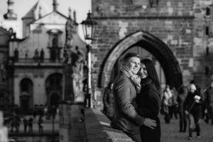 Вечерняя фотосессия в Праге