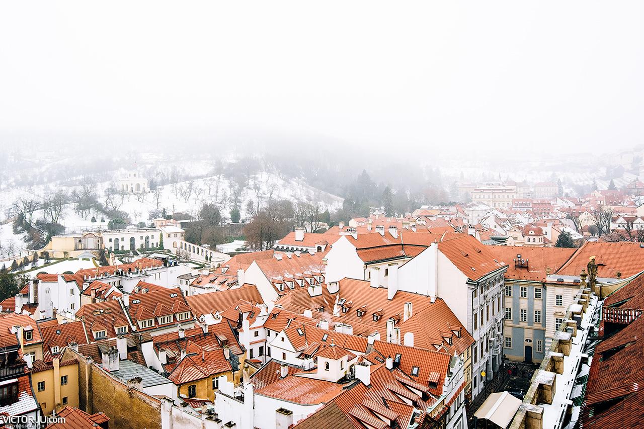 Прага вид
