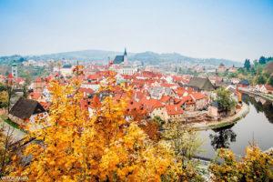 Осень в Чешском Крумлове