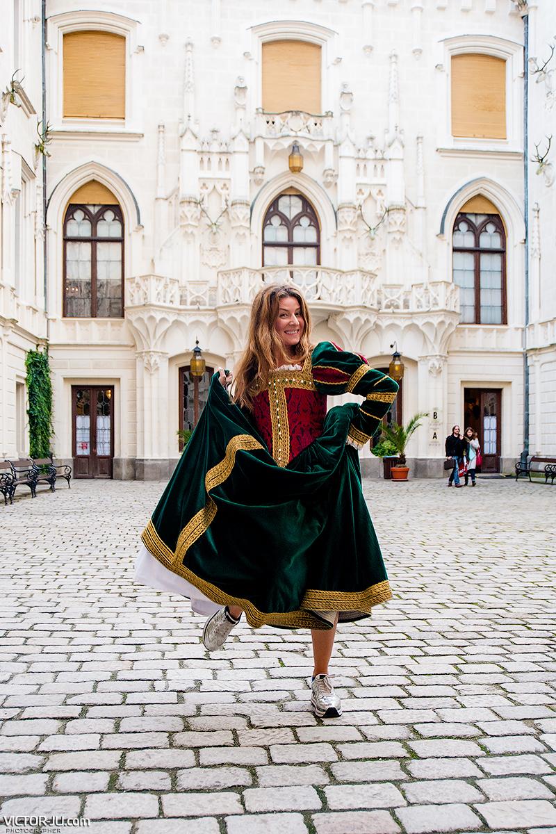 Жанна Бадоева в Чехии