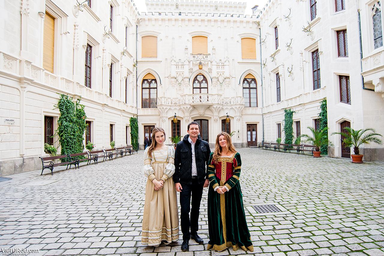 Жанна Пожени в Чехии