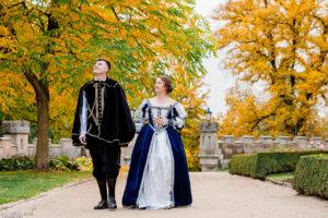 Свадьба осенью в Чехии