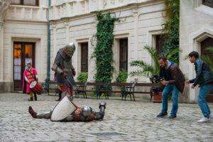 Рыцарский турнир в замке Глубока над Влтавой