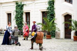 Королевская свадьба в Замке Глубока над Влтавой