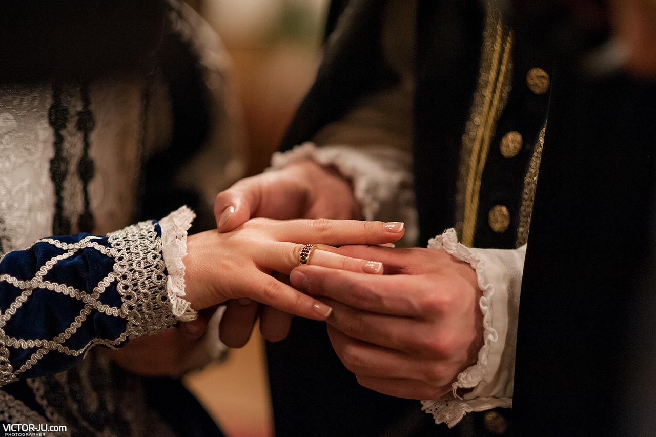 Свадебная церемония в Замке