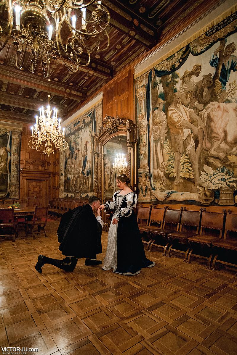 Королевский свадебный танец