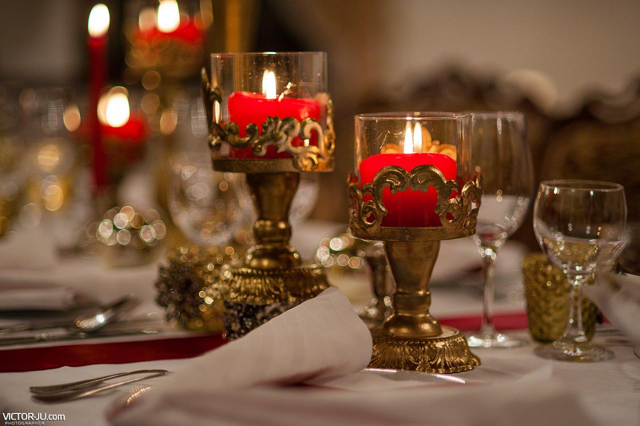 Королевский декор на свадьбу