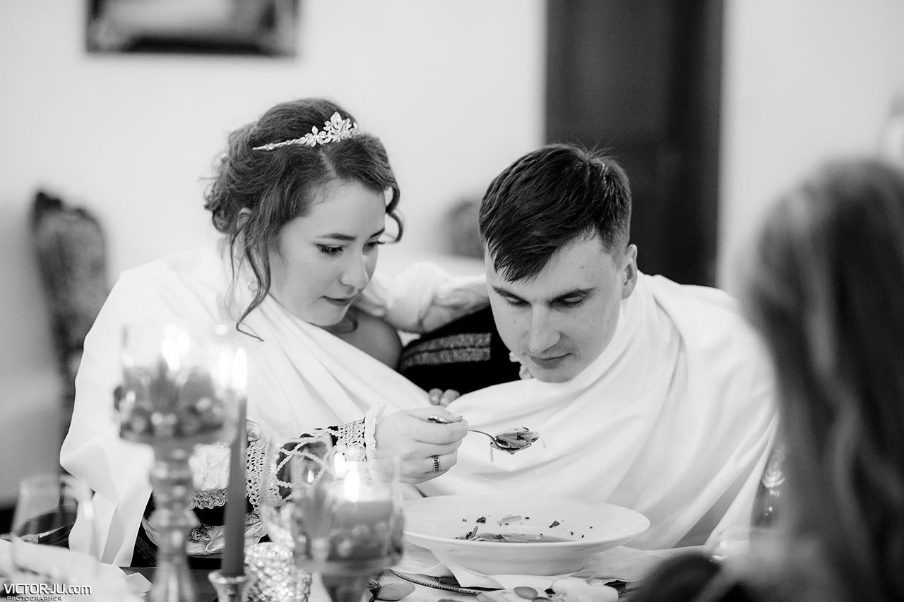 Традиционный свадебный ужин в Чехии