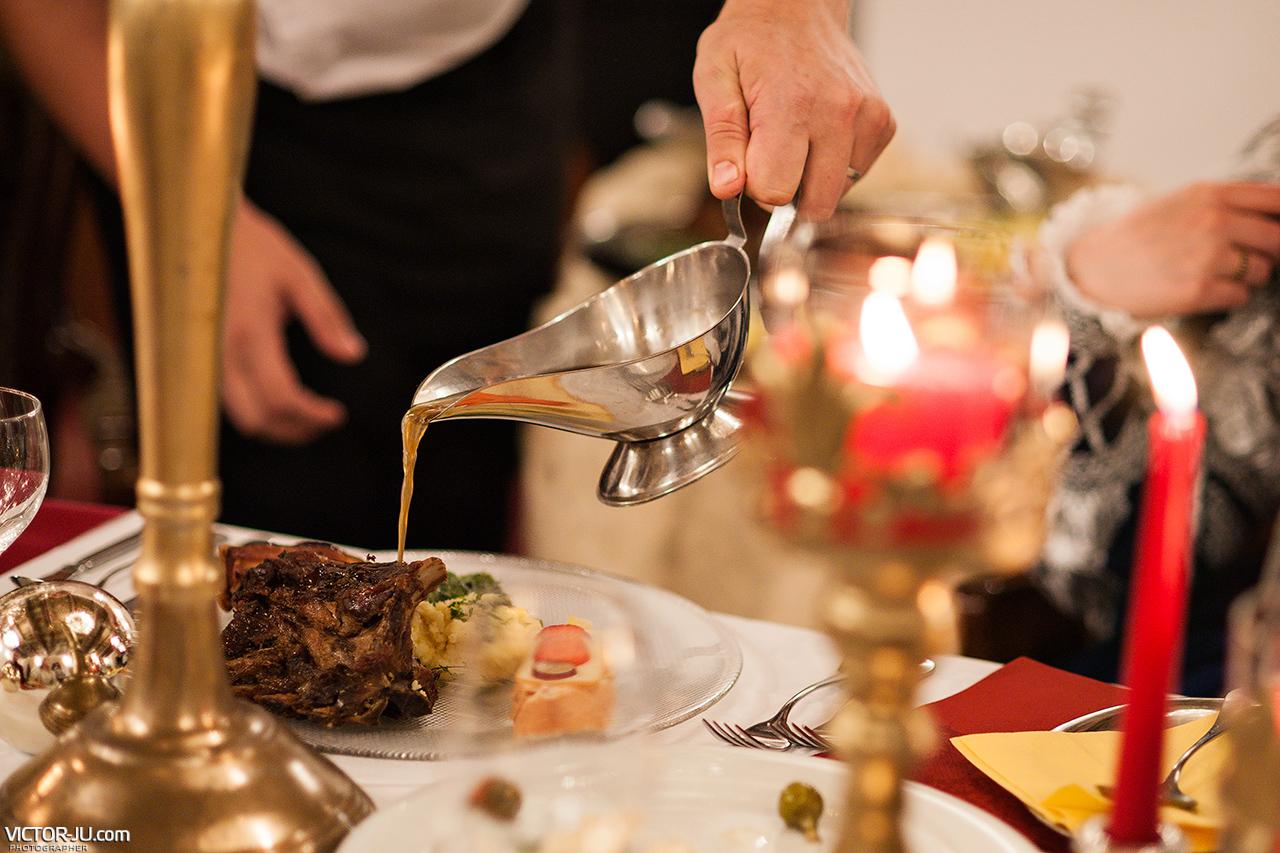 Чешский свадебный ужин