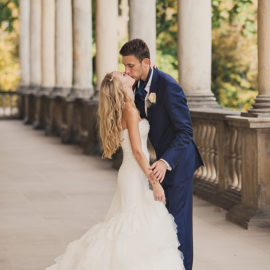 Autumn wedding in the Old Town Hall