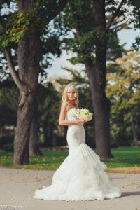 Портрет невесты осенью