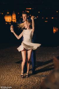 Свадебный танец в Праге