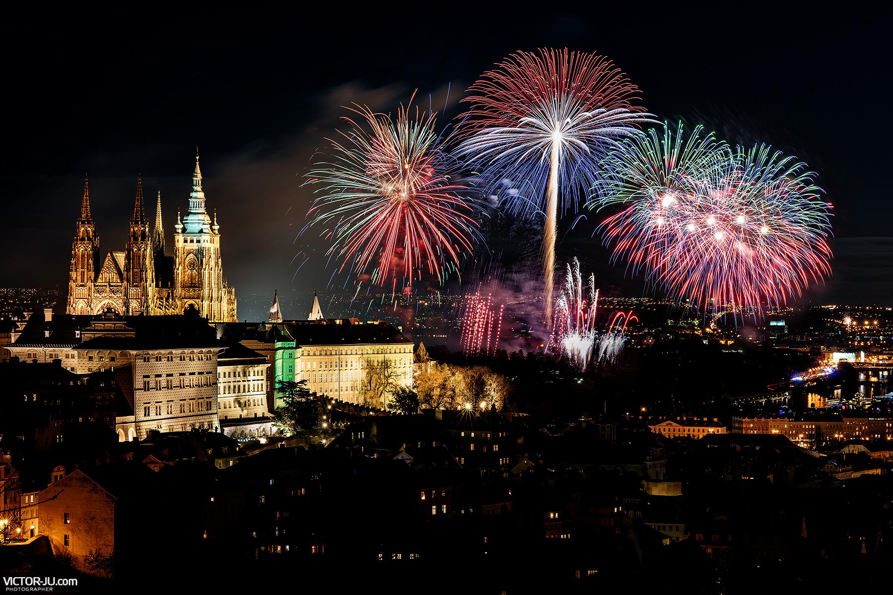 Салют в Праге