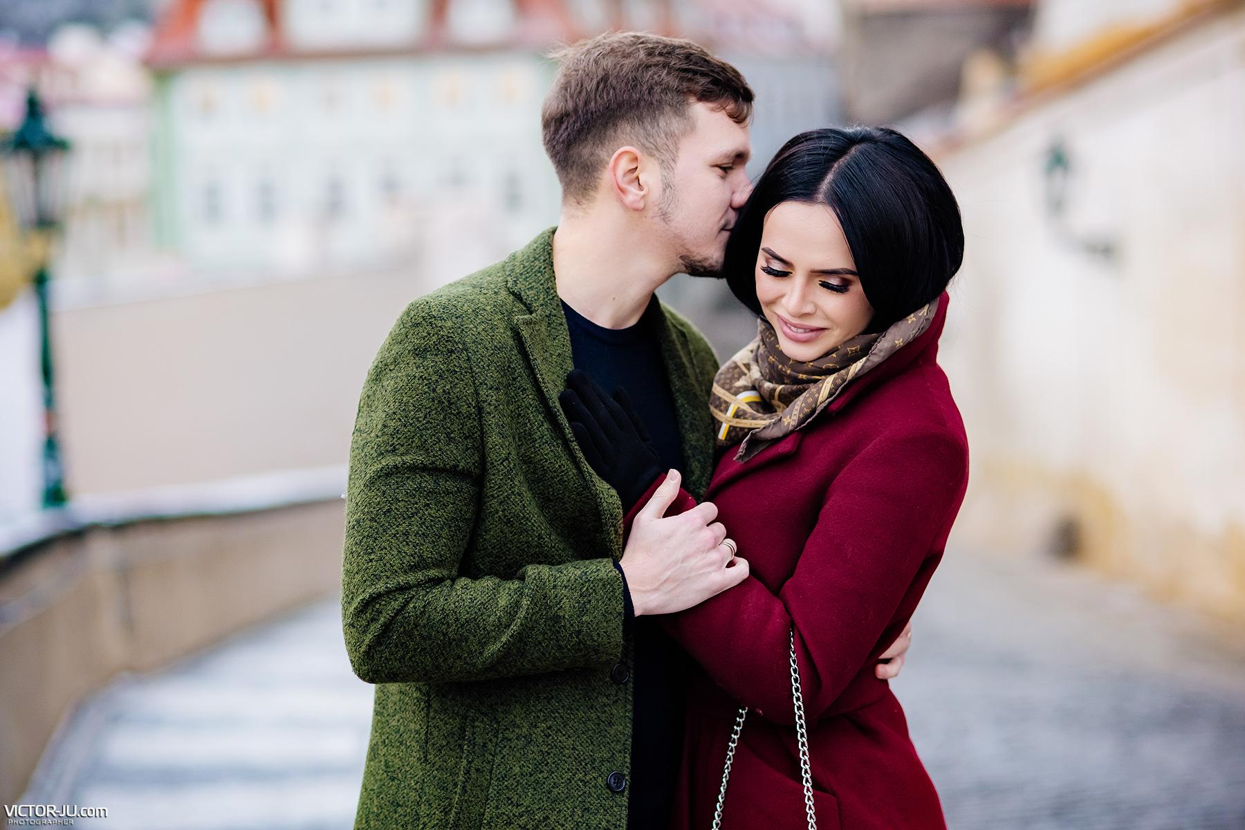 Романическая фотосессия Виктории и Антона