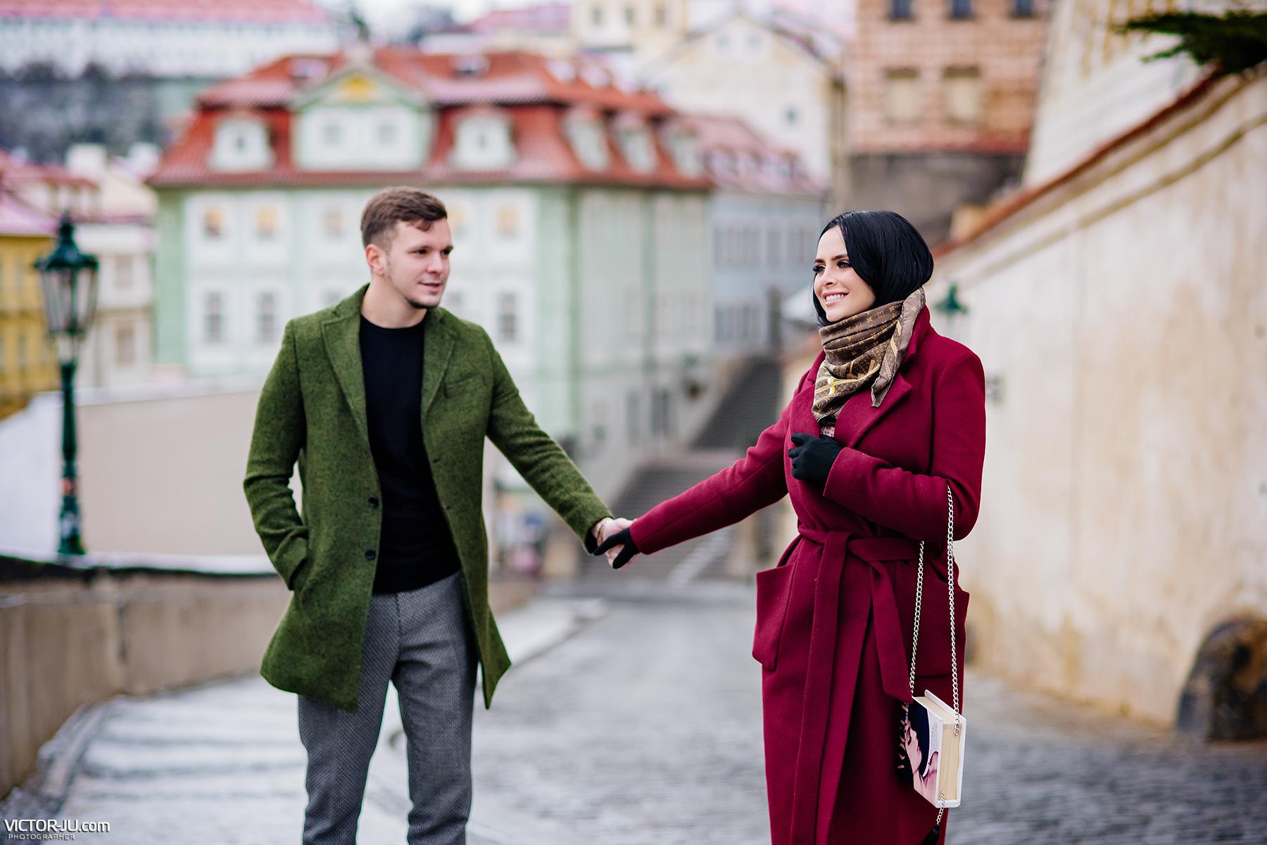 Романец и Гусев в Праге