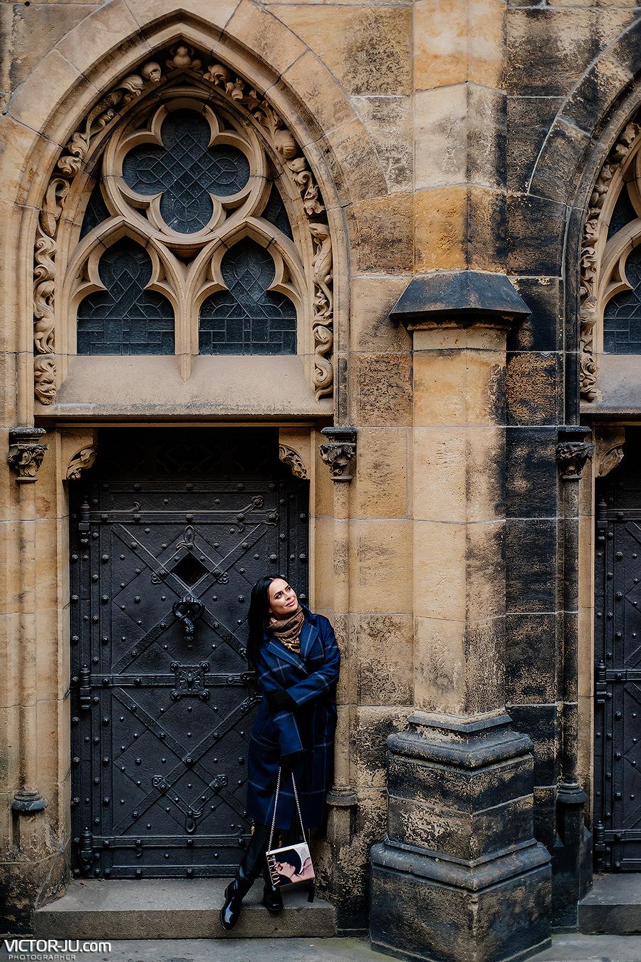 Виктория Романец в Праге