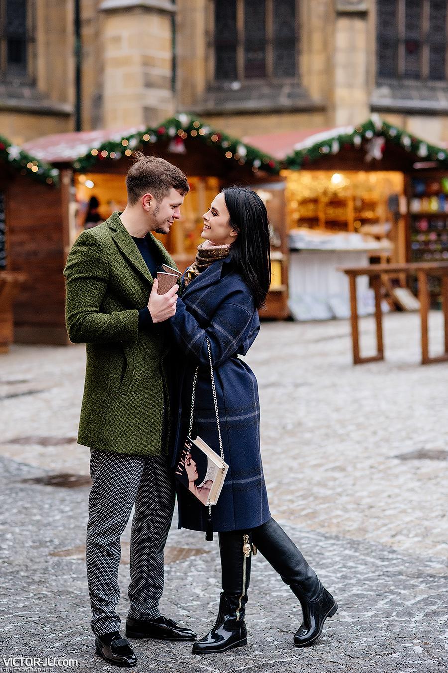 Рождественская фотосессия в Праге