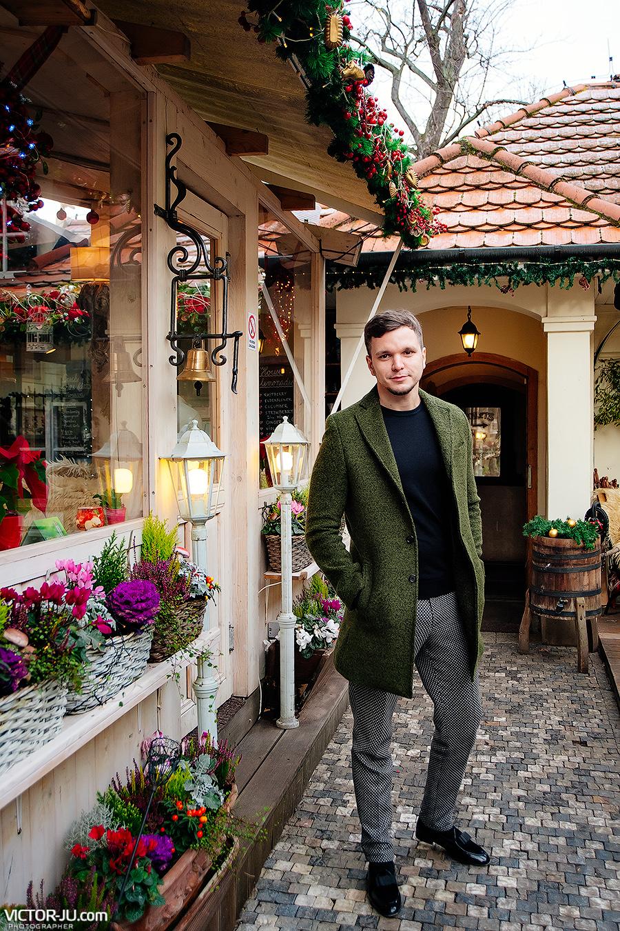 Антон Гусев в Праге