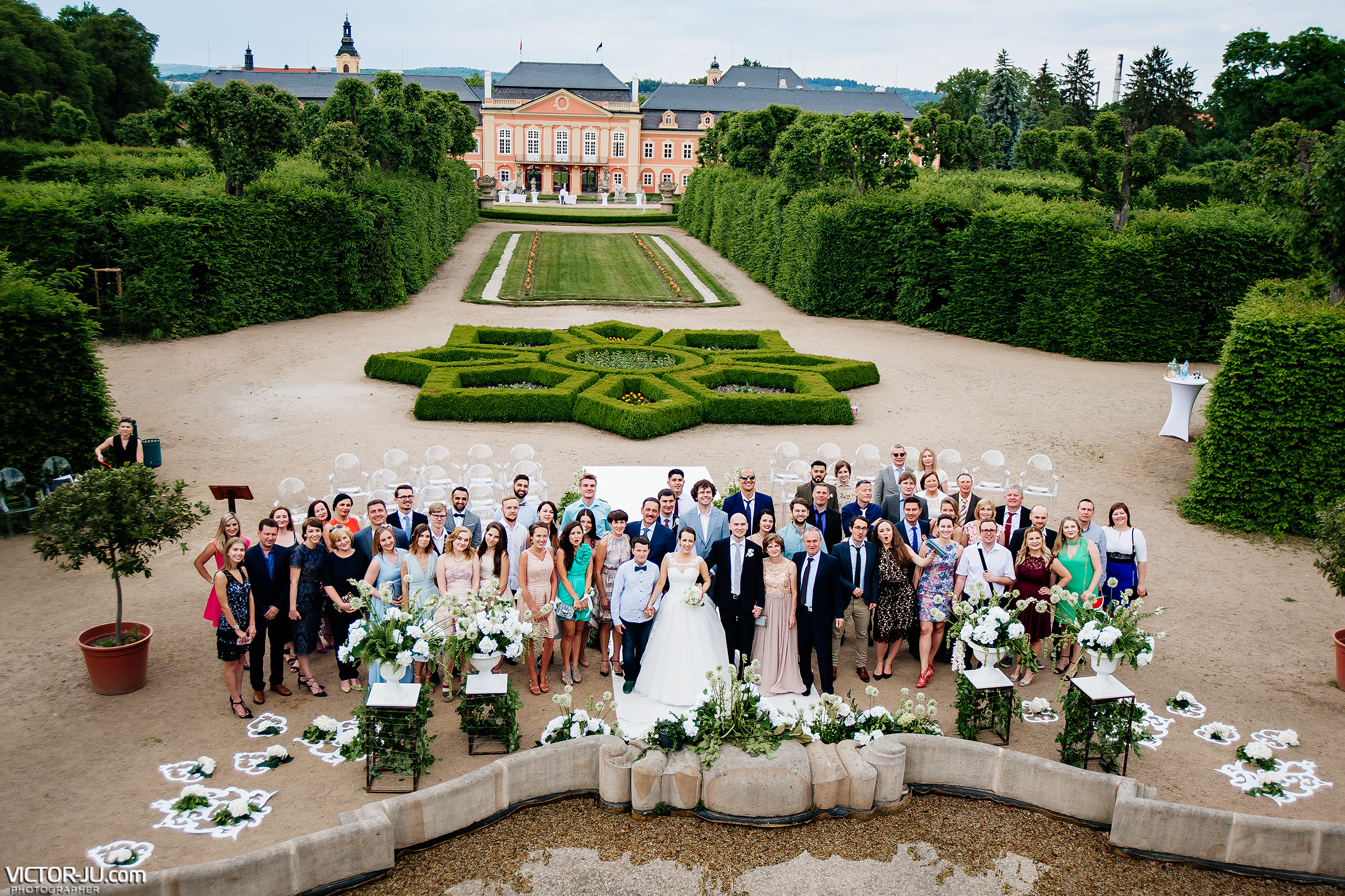 Photographer in the Czech Republic for a wedding