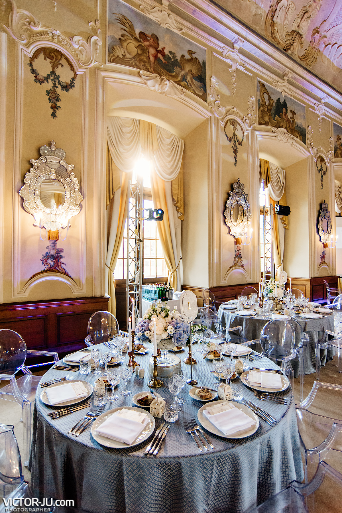 Professional decor for a wedding in the Czech Republic