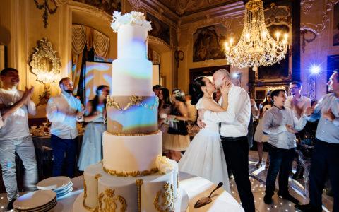 Wedding in Dobris, Prague