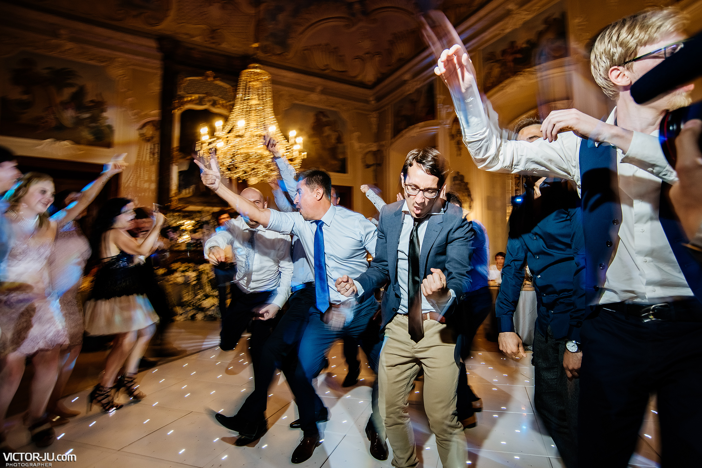 Dancing at the wedding in the Czech Republic