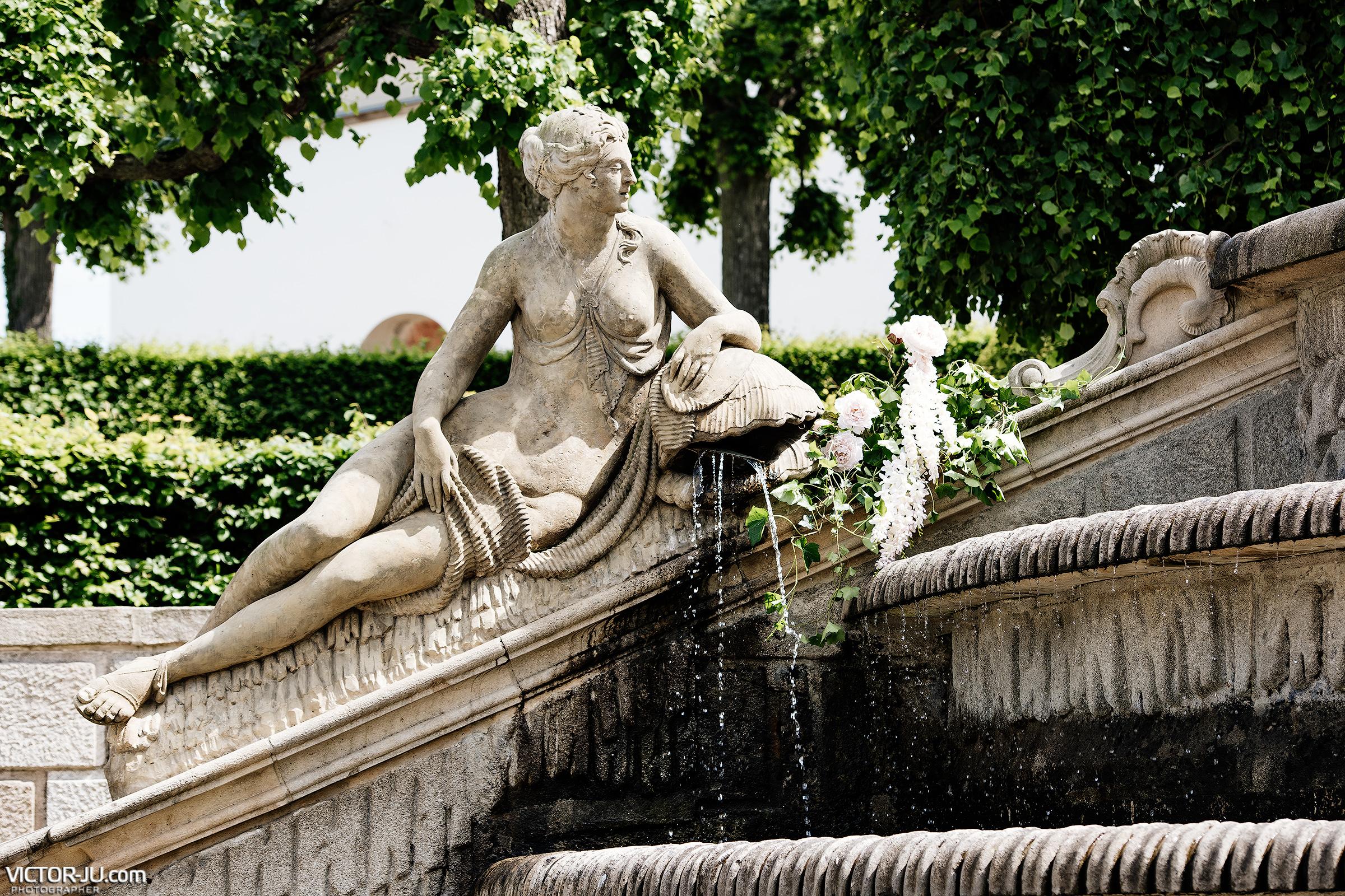 Французский сад в Замке Добриш