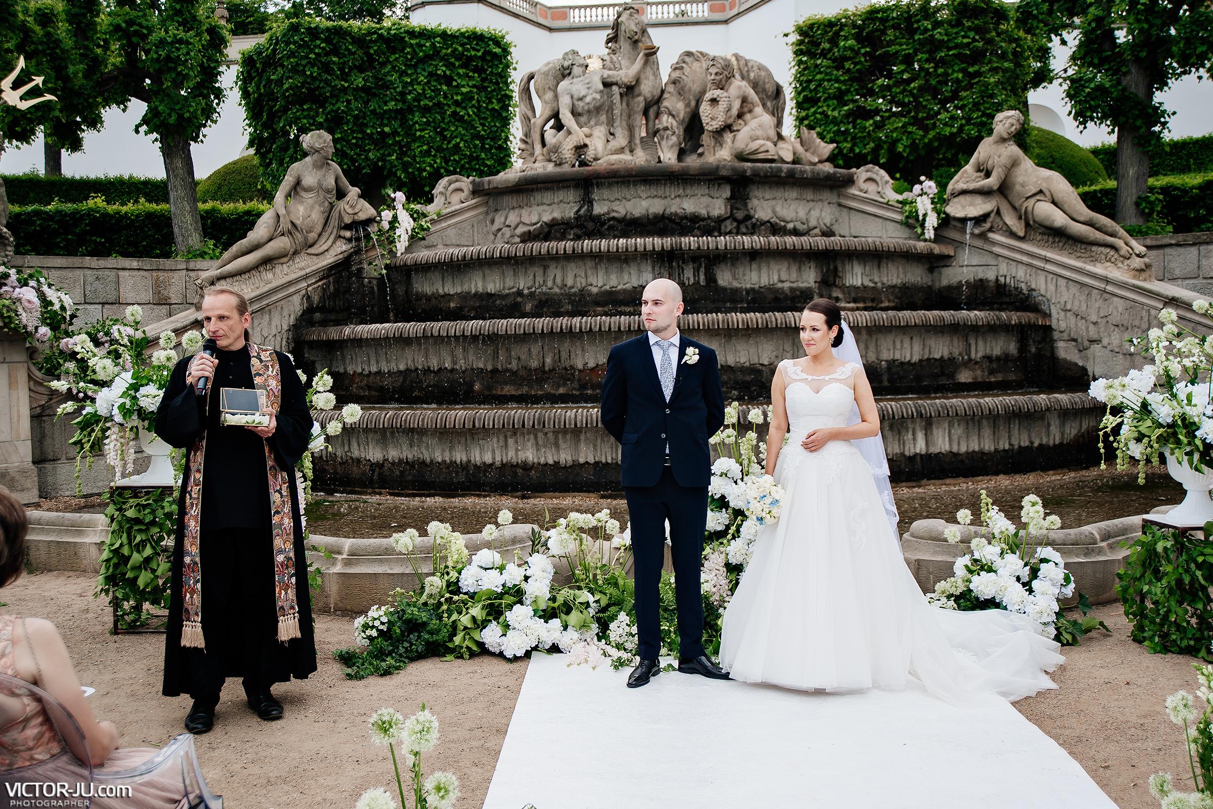 Свадьба в замке Чехии