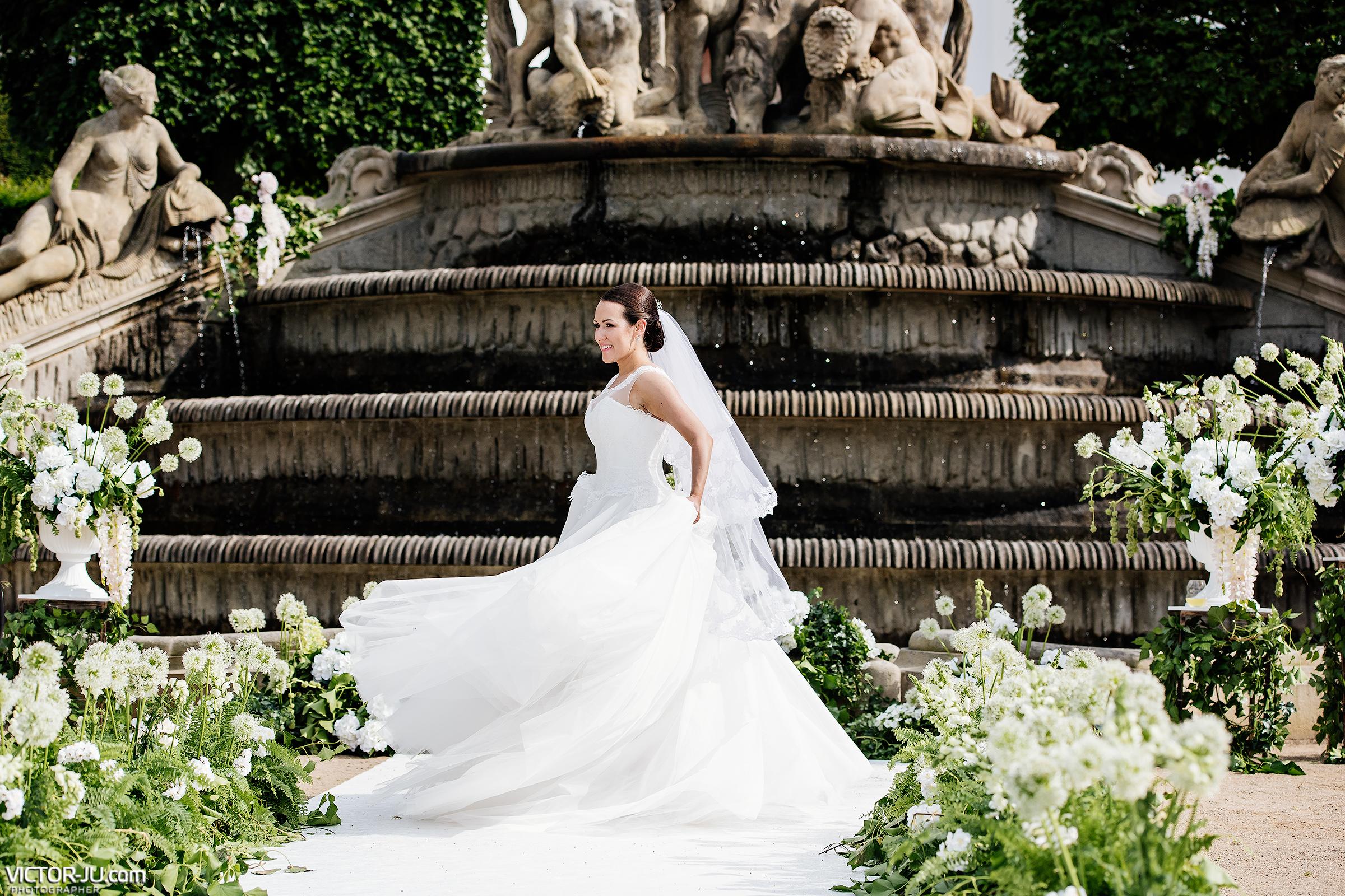 Красивое фото невесты