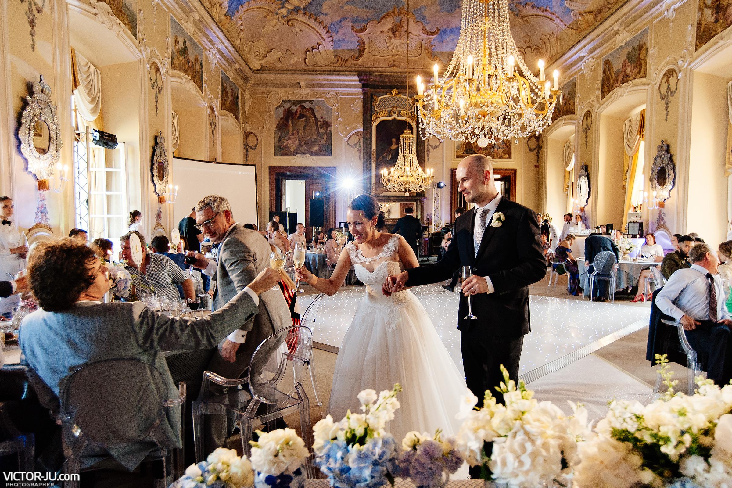Свадебный банкет в Чехии