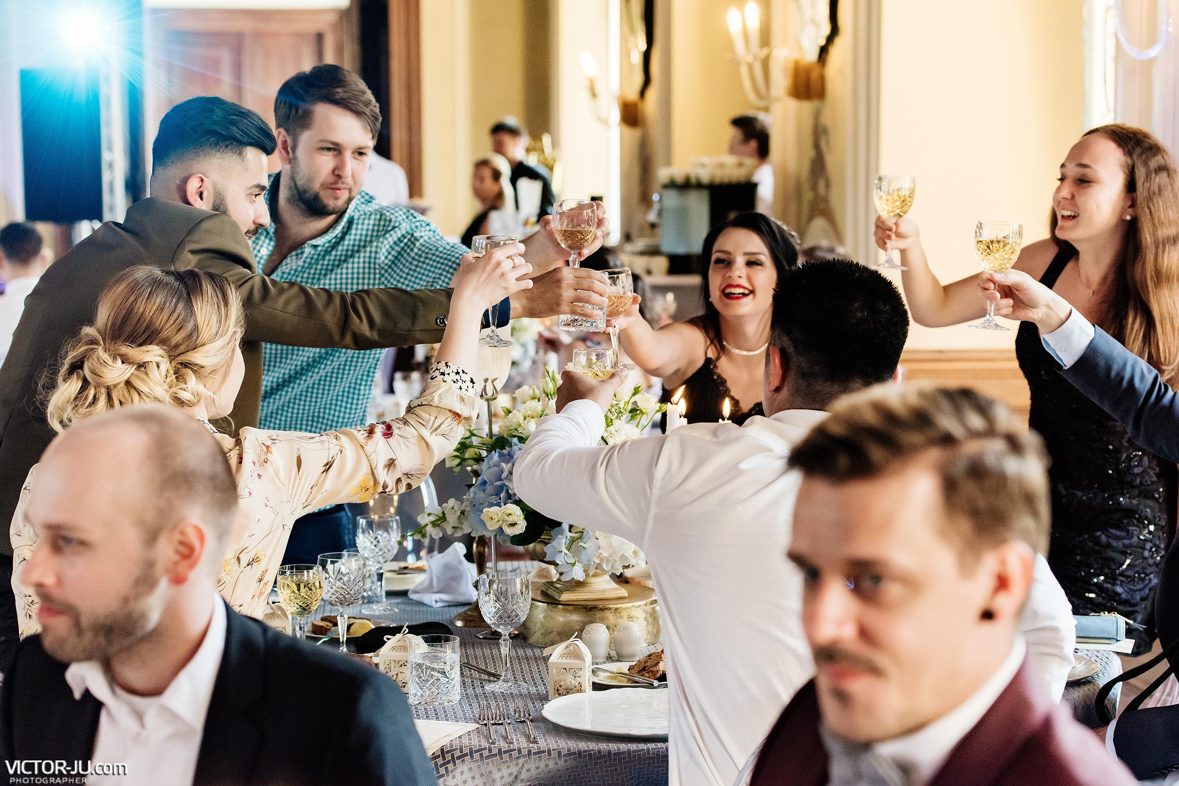 Свадебный банкет в Замке Добриш
