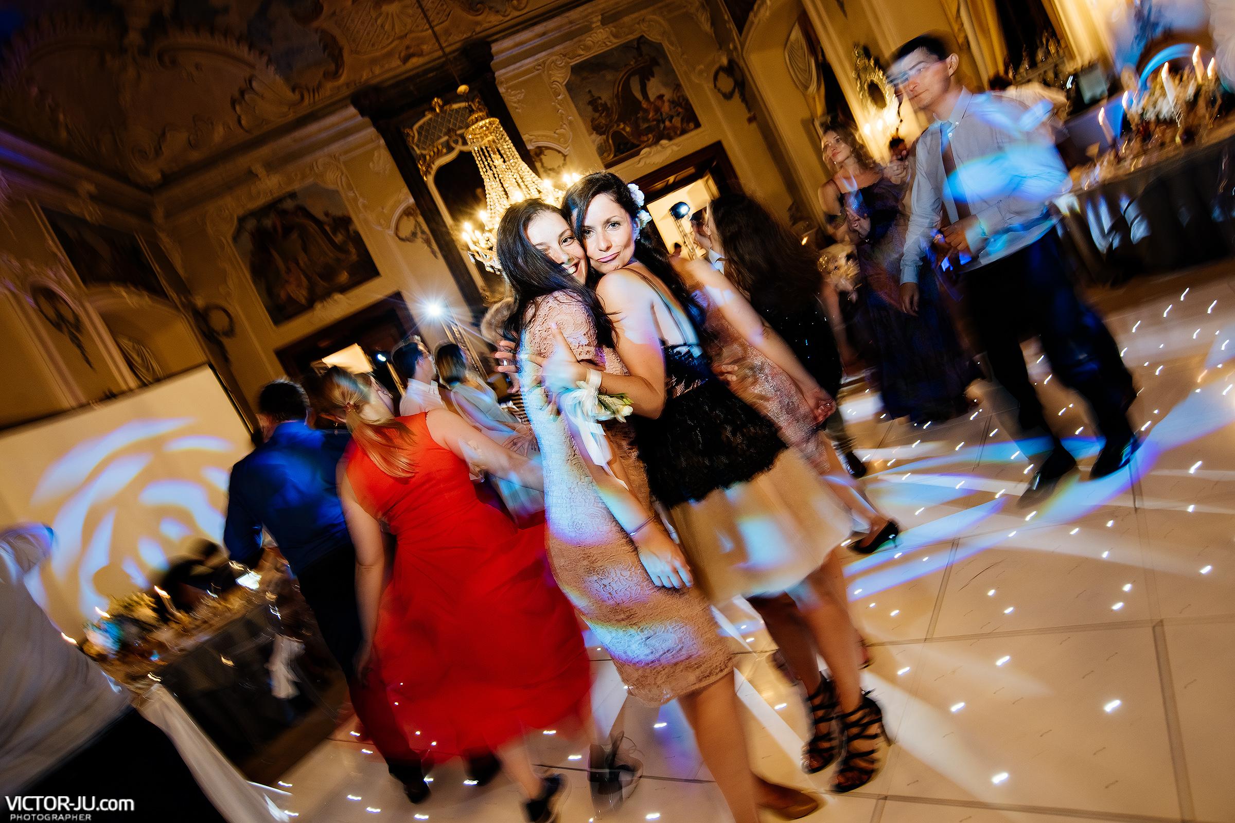 Танцы на свадьбе в Чехии