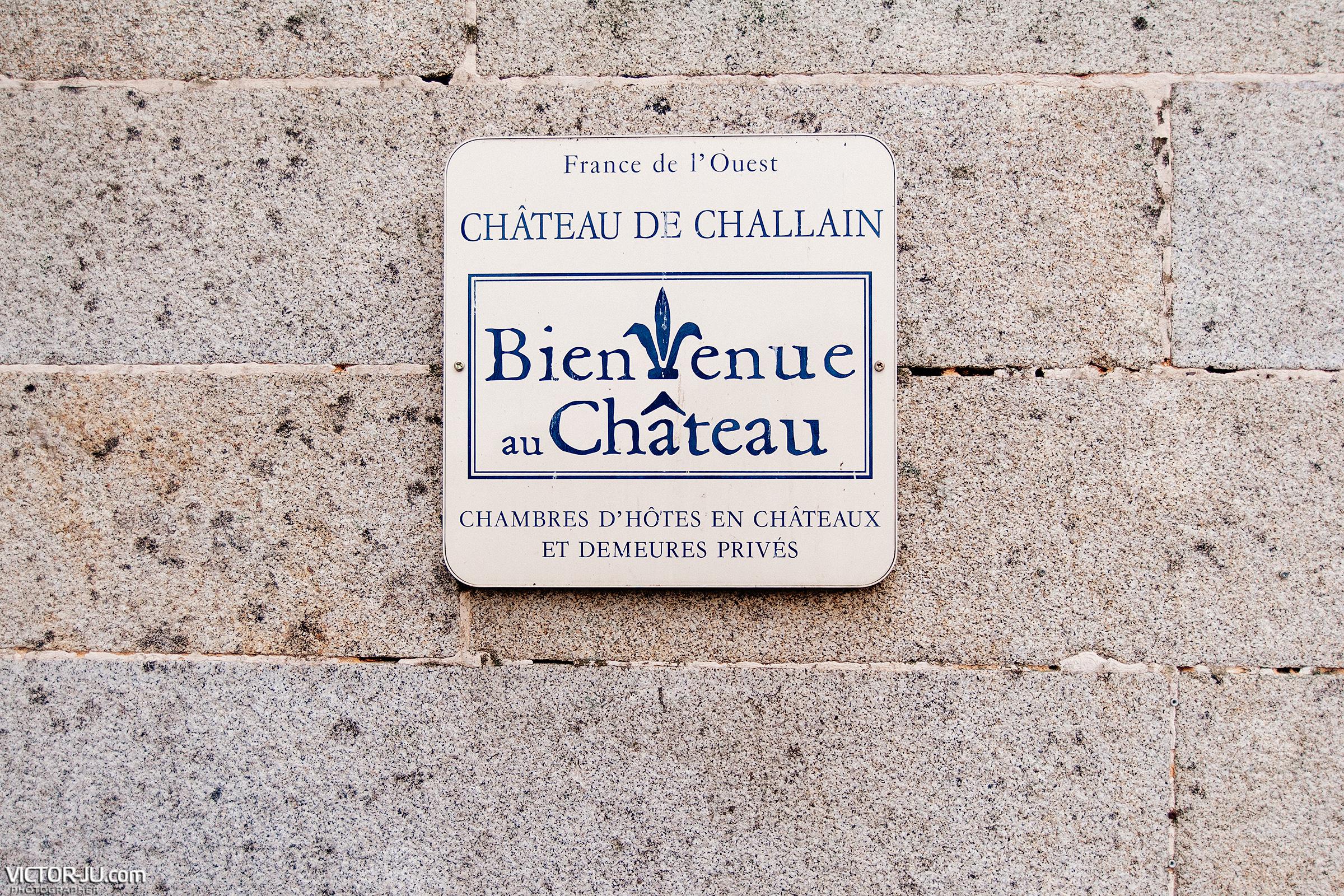Castle Château de Challain