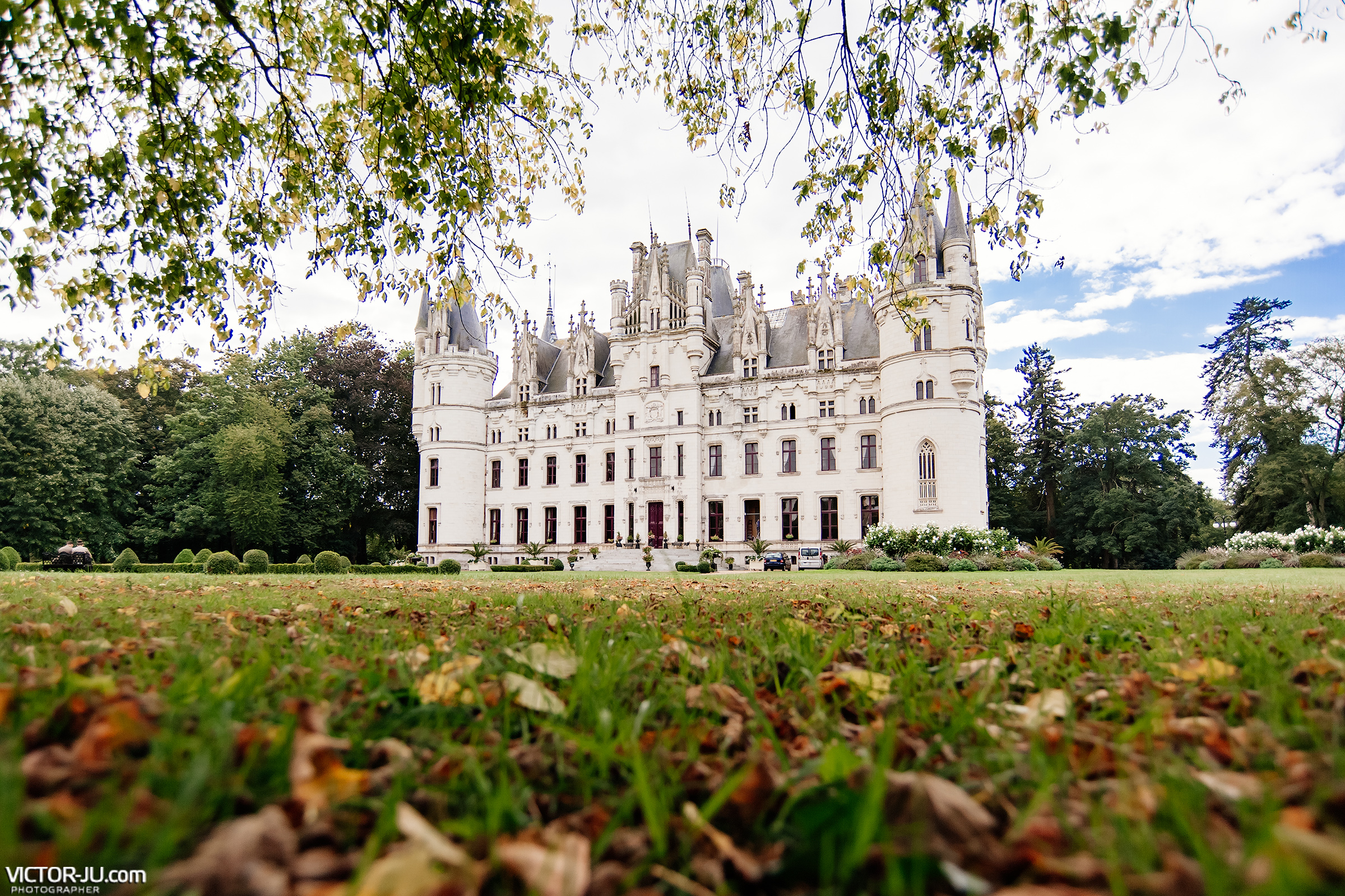 Castle Château de Challain, France