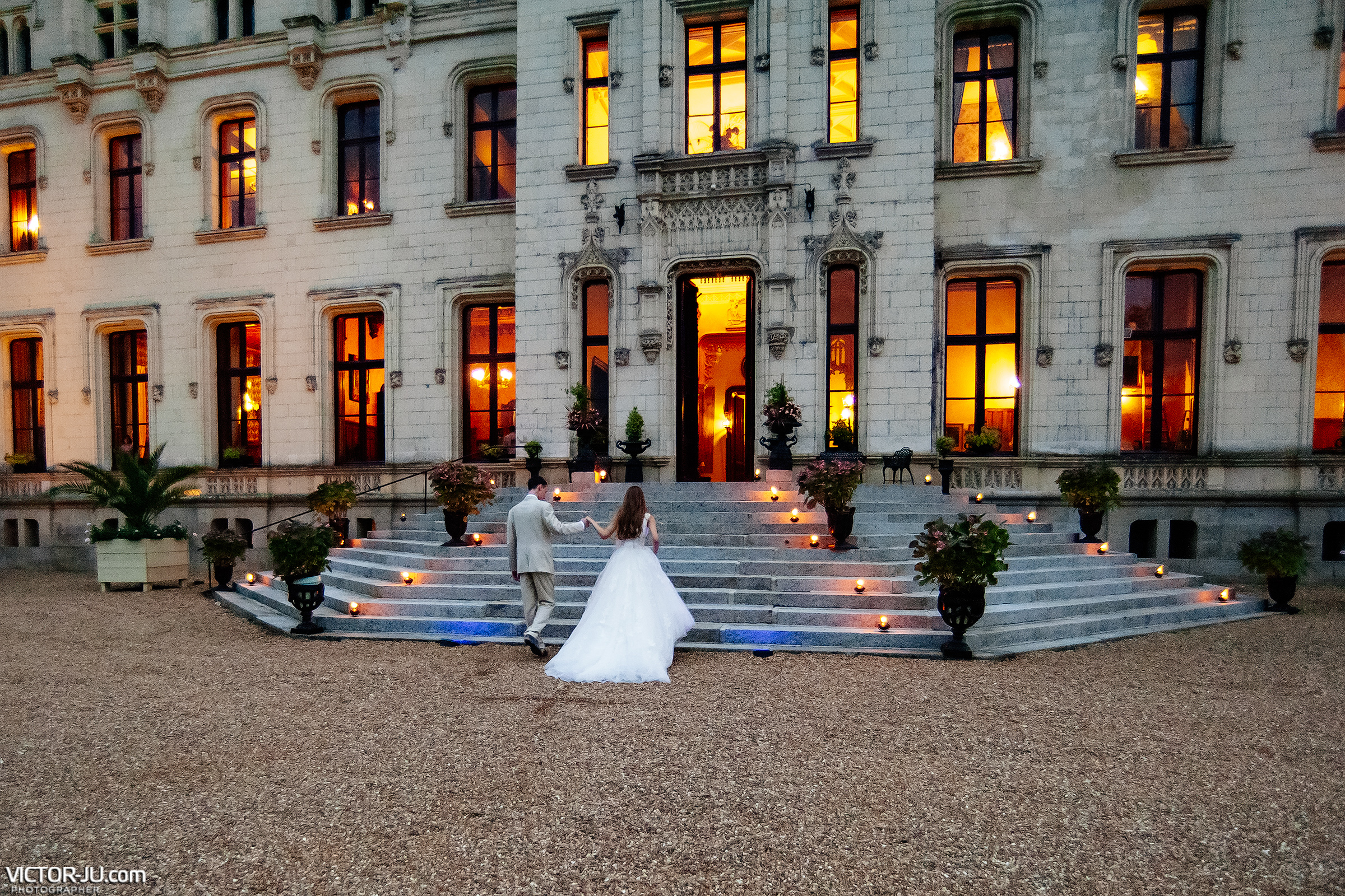 Wedding photographer for a wedding in France