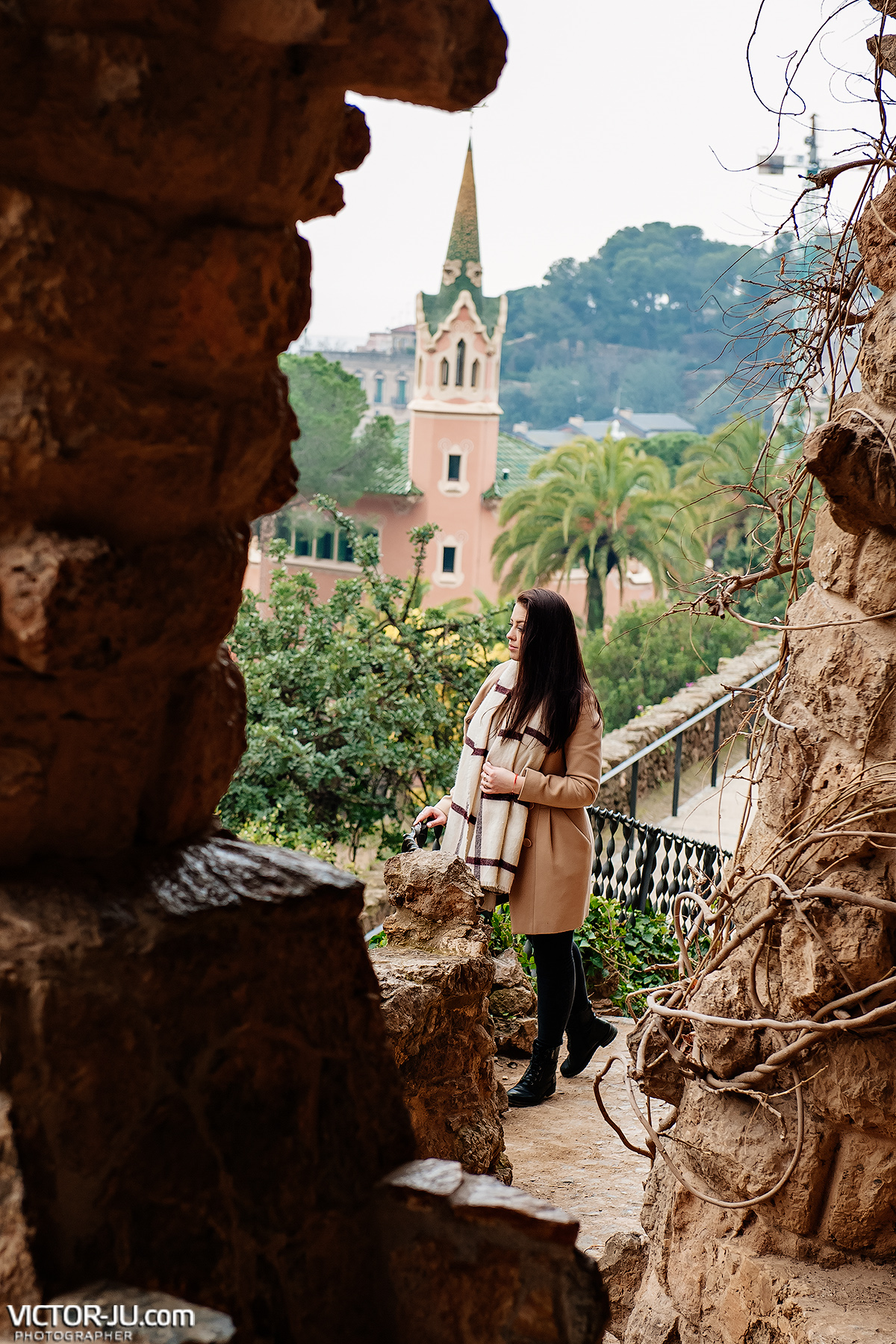 Photoshoot in Barcelona, Park Guell